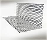 Kiesfang 50, Lochblech in Aluminium oder Titanzink (50-1 Aluminium 2m)