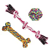 MEWTOGO Pet Chew Durable Toys-Teeth Aids Cotton...