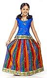Kanakadara Self Design Girl's Lehenga Ch...