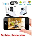 Voltac ™ Wireless HD IP Wifi CCTV [Watch ONLINE DEMO right now] indoor Security Camera (support upto 128 GB SD card) (Assorted Color) Model 360439