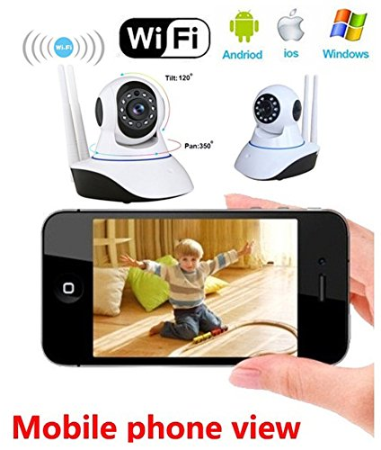 Voltac Wireless HD Ip WiFi CCTV [Watch Online Demo Right Now] Indoor Security Camera (Support Upto 128 GB SD Card)...