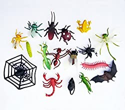 Insects Animals Figure Toy (17 Count)