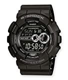 Casio G-SHOCK Reloj Digital, 20 BAR, Negro, para Hombre, GD-100-1BER