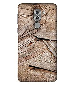 Huawei Mate 9 Lite, Huawei GR5 2017, Huawei Honor 6X Back Cover, Huawei Honor 6X Back Case Wooden Box Texture Design From Printvisa