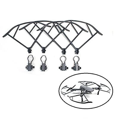 TELESIN Extended Landing Legs and Propeller Guard Accessories Kits for DJI Mavic Pro Drone