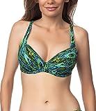 Antie Damen Bikini BH mit Bügel 81L2D4N31 (Aqua, 80 F)