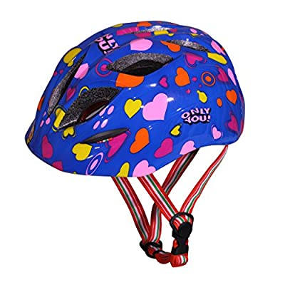 SymbolLife Children Girls Boys Helmet Cycle Helmet Safety Bike Bicycle Skating Helmet, Blue by SymbolLife