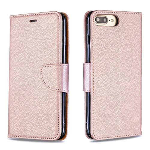 Cover iPhone 7 Plus/iPhone 8 Plus, Bear Village® Alta Qualità Portafoglio Custodia in Pelle per Apple iPhone 7 Plus/iPhone 8 Plus con Funzione ...