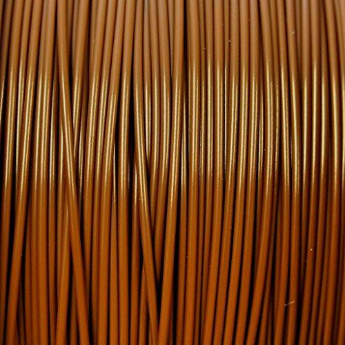PLA 1,75mm 50Meter von Filament, Knäuel,-Faden Große Qualität und Präzision, die Farben Bilder sind die wahren Farben, professionelles Produkt für Drucker 3D und Stift Doodle 3D, Farbe wählbar, MARRONE/BROWN (Nachricht Produkte)