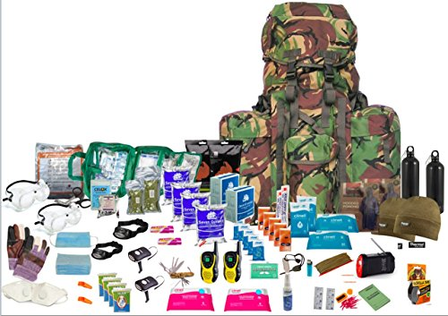 "Two Person Enhanced Emergency "" Bug Out Bag "" DPM"