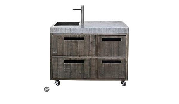 Außenküche Mit Spüle : Außenküche gartenküche nr spülenmodul amazon garten