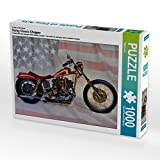 Ein Motiv aus dem Kalender Harley Classic Chopper 1000 Teile Puzzle quer