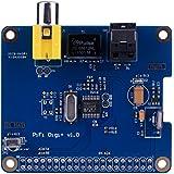 for Raspberry pi 3 2 model B B+ Kuman SC07 Raspberry Pi HIFI DiGi+ Digital Sound Card digitale soundkarte I2S SPDIF Optical Fiber