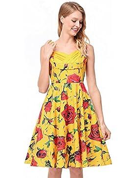 SJMMQZ Mujeres Sexy vestido