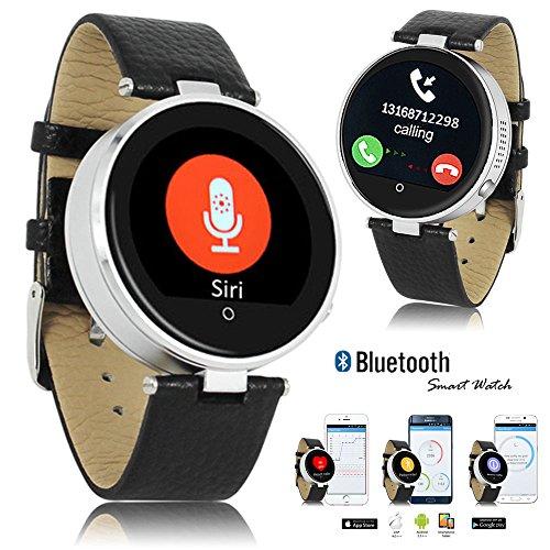 Indigi® Fitness Bluetooth Smart Watch Phone Siri Eingebauter Herzfrequenzmesser Schrittzähler
