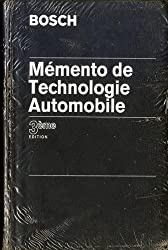 MEMENTO DE TECHNOLOGIE AUTOMOBILE