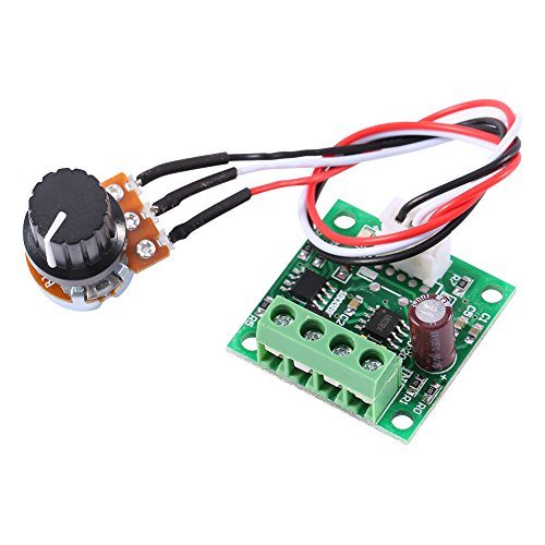 DC PWM Controller 1.8V 3V 5V 6V 12V 2A DC Niederspannungs-Motor Controller Board ohne Potentiometer Switch 1803BW - 1 Geschwindigkeit Motor