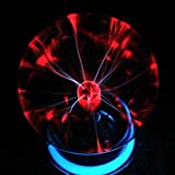 Egomall Touch Sensitive Plasma Ball Light Sphere Lightning Light Magical Ball for Parties, Decorations, Prop, Kids, Bedroom, Home and Gifts