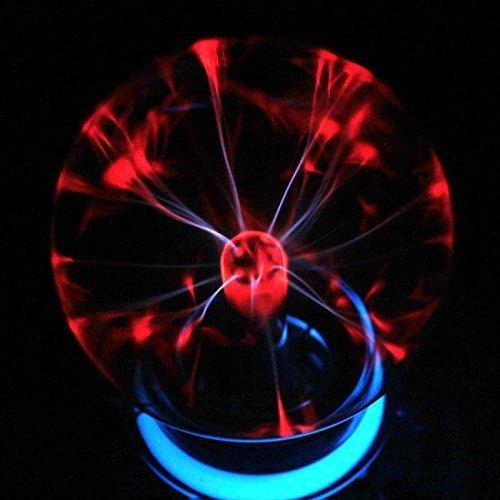 Egomall Touch Sensitive Plasma Kugel Licht Kugel-Licht-magische Kugel für Parteien, Dekorationen, Stütze, Kinder, Schlafzimmer, Haus und Geschenke Plasma