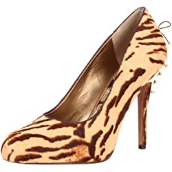 Sam Edelman Evan 17, Damen Klassische Pumps, Beige (tan tiger), EU 37 (US 6)
