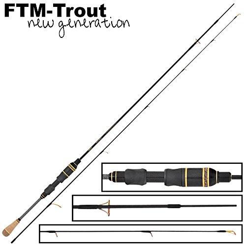 FTM Finesse Limited Light Rute 1,80m 0,8-4,5g - Spinnrute zum Forellenangeln, Forellenrute für Forellenblinker, Forellen Angelrute