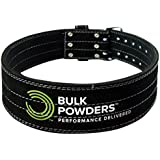 BULK POWDERS Double Prong Strength and Support Weightlifting/Powerlifting Belt - Small