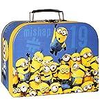 alles-meine.de GmbH Koffer / Kinderkoffer -  Minions - Ich einfach unverbesserlich  - Pappkoffer - für Kinder Jungen & Mädchen - Geschenkekoffer - Karton - Minion / Spielekoffe..