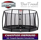 Bergtoys Trampolin Champion Grey, InGround, 380cm