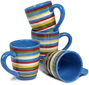 Tabletop lifestyles as seen on two and a half men sedona mug 16 ounce blue set of 4 by - Two and a half men mugs ...