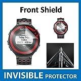 Garmin Forerunner 220Reloj GPS Protector de pantalla invisible frontal (Front–Escudo incluido) Protección de Grado Militar Exclusiva de ACE CASE