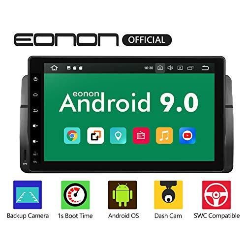 eonon GA9350B Android 9 fit BMW 3 E46 (1999-2004) Indash Auto Digital Audio Video Stereo Autoradio 22,9 cm LCD Touchscreen GPS Navigationsgerät Bluetooth FM AM RDS USB WiFi OBD2 4G Headunit (NO DVD)