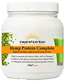 Hemp Protein Complete - 500g protein powder (Original) - For stamina and performance - Growth and cell repair - High in protein low in carbs 110% Money Back Garauntee by Inspire Nutrition
