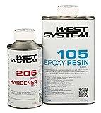 West System A-Pack Epoxid mit Langsam-Härter 105-206A - 1,2kg
