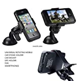 #8: EASY4BUY® Universal Rotating Mobile Phone Holder Stand Car Mount for Smartphones GPS