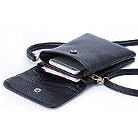 Hengying Piccola spalla del sacchetto di colore solido, la borsa, il sacchetto di sera, sacchetto della macchina fotografica, sacchetto di scuola - Nero (Black)
