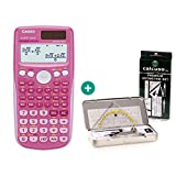 Casio FX 85 GT Plus Pink + Geometrie-Set