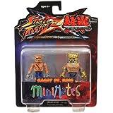 Street Fighter X Tekken Minimates Figura 2 Paquete Sagat vs King Street Fighter X TEKKEN-Tekken - (jap?n importaci?n)