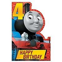 GEMMA 253771 Thomas Happy 4th Birthday Card