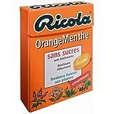 Ricola bonbons orange/menthe sans sucres 50g - ( Prix Unitaire ) - Envoi Rapide Et Soignée