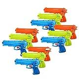 Schramm® Onlinehandel - Set da 12 pistole ad acqua classiche, ca. 17 cm