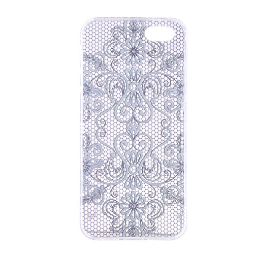 MOONCASE pour iPhone 5G / 5S Case Silicone Gel TPU Housse Coque Case Etui Cover X07 X03 #1207