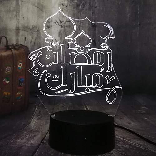 Grüße 3D Nachtlicht Led Schreibtischlampe Wohnkultur Weihnachtsgeschenk Kinderspielzeug Geburtstagsgeschenk 3D Nachtlicht ()