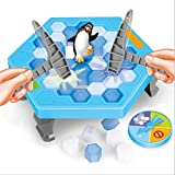 #8: Penguin Jump Trap Cartoon Character Toy Penguin Jump Trap Learning Assemble Blocks Game for Kids