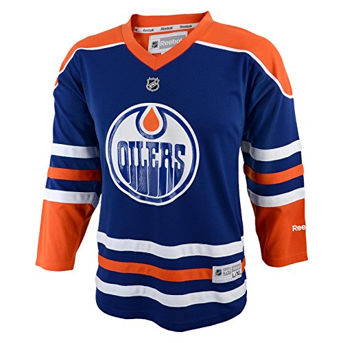 Outerstuff NHL Unisex-Child NHL Jungen Kids & Youth Team Farbe Replica Jersey, Unisex - Kinder, NHL Kids & Youth Boys Team Color Replica Jersey, Dk Royal, Large/X-Large