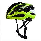 LKJCZ Smart Bike Helm, Wireless Turn Signal Taillight,Green