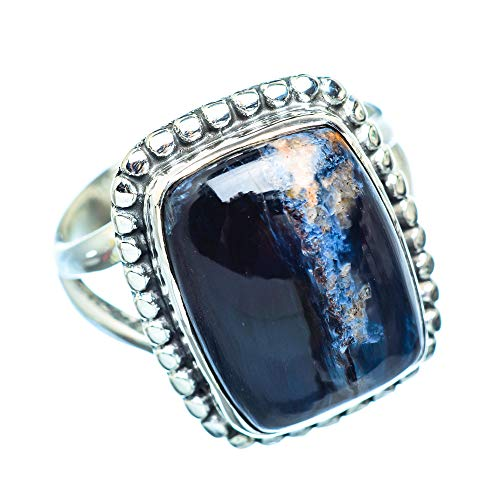 Pietersite, Pietersit 925 Sterling Silber Ring 8.75 (Ana Silver Co Ringe)
