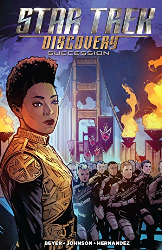 STAR TREK DISCOVERY SUCCESSION TP por Mike Johnson
