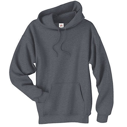 MEDIUM CHARCOAL classic plain pullover hoodie unsex and these are ideal for mens and ladies hooded sweatshirt