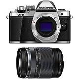 Olympus OM-D E-M10 Mark II Mirrorless Micro Four Thirds Digital Camera [Silver] Body with Olympus M.Zuiko ED 14-150mm f/4-5.6 II Lens