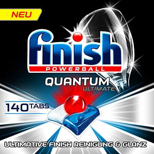 Finish Quantum Ultimate Gigapack Spülmaschinentabs, Regular, 140 Tabs